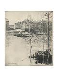 Le Quai De Lhorloge, 1915 Giclee Print by Eugene Bejot