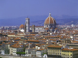 Florence from Piazzale Michaelangelo, Italy Photographic Print by Peter Thompson
