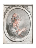 Portrait of Madame Huet, C1773 Giclee Print by Gilles Demarteau