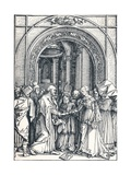The Betrothal of the Virgin, 1506 Giclee Print by Albrecht Dürer