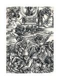 The Four Avenging Angels, 1498 Reproduction procédé giclée par Albrecht Dürer