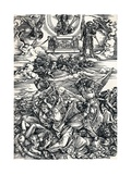The Four Avenging Angels, 1498 Giclee Print by Albrecht Dürer