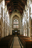 Interior of Wimborne Minster, Dorset Photographic Print by Peter Thompson