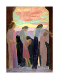 Marthe Denis and the Children on the Balcony, C1900-1940 Giclee Print by Maurice Denis