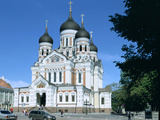 Alexander Nevsky Cathedral, Tallinn, Estonia Photographic Print by Peter Thompson