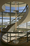 South Staircase, De La Warr Pavilion, Bexhill on Sea, East Sussex Photographic Print by Peter Thompson