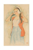 An Auto-Lithograph by Armand Rassenfosse, C1898 Giclee Print by Armand Rassenfosse