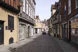 Elm Hill, Norwich, Norfolk, 2010 Photographic Print by Peter Thompson