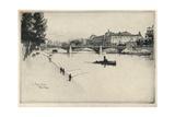 The Palais Dorsay, 1915 Giclee Print by Eugene Bejot