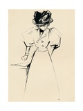 Study in Indian Ink by Forain, C1898 Giclee Print by Jean Louis Forain