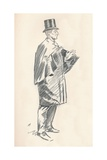 Lead Pencil Sketch by Phil May, C19th Century (1903-1904) Giclee Print by Philip William May