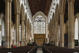 Interior of the Church of St Peter Mancroft, Norwich, Norfolk, 2010 Photographic Print by Peter Thompson