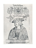 Portrait of the Emperor Charles V, 1519 Giclee Print by Albrecht Dürer