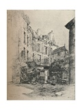 Cour De Rohan, 1915 Giclee Print by Charles Jouas