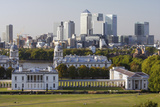 Canary Wharf from Greenwich Park, London, 2009 Photographic Print by Peter Thompson