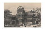Gawsworth Old Hall, Cheshire, 1915 Reproduction procédé giclée par CJ Richardson