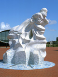 Antarctic 100 Memorial, Waterfront Park, Cardiff, Wales Photographic Print by Peter Thompson