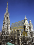 St Stephens Cathedral, (Stephansdom), Vienna, Austria Photographic Print by Peter Thompson