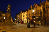 Market Place at Night, Durham Photographic Print by Peter Thompson