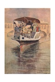 Bateau-Parisien at the Point Du Jour, 1915 Giclee Print by Charles Jouas
