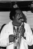 Jimmy Witherspoon, Ronnie Scotts, Soho, London, 1973 Photographic Print by Denis Williams