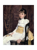 A Little Girl, 1887 Giclee Print by Cecilia Beaux