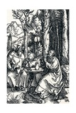 The Hermits St Anthony and St Paul, 1504 Giclee Print by Albrecht Dürer