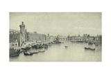 Paris in 1658, 1915 Giclee Print by Ph Benoist
