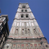 Giottos Tower in Florence Artist: Giotto Photographic Print by  Giotto