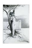 Aphrodite, 1896 Reproduction procédé giclée par Antoine Calbet