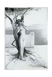 Aphrodite, 1896 Giclee Print by Antoine Calbet