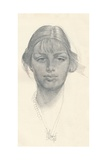 The Fair Girl, C1914. Artist: George Washington Lambert Giclee Print by George Washington Lambert