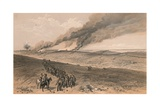 Redan and Advanced Trenches of British Right Attack, 1856 Giclee Print by Thomas Picken