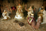 Three Kings, Nativity Scene, Los Cristianos, Tenerife, Canary Islands, 2007 Photographic Print by Peter Thompson