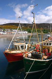 Fishing Boats, Ullapool Harbour, Highland, Scotland Photographic Print by Peter Thompson