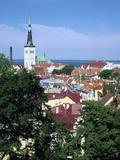 St Olavs Church, Tallinn, Estonia Photographic Print by Peter Thompson