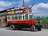 Open Top Bus, Beamish Museum, Stanley, County Durham Photographic Print by Peter Thompson