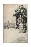 Jardin Du Luxembourg, 1915 Giclee Print by Eugene Bejot