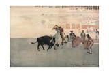 Picadors, Seville, 1893 Giclee Print by Arthur Melville