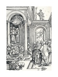 The Presentation of the Virgin in the Temple, 1506 Giclee Print by Albrecht Dürer