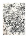 Hercules, 1497 Wydruk giclee autor Albrecht Dürer