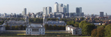 Canary Wharf from Greenwich Park, London, 2009 Giclee Print by Peter Thompson