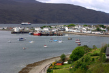 View of Ullapool Harbour, Highland, Scotland Photographic Print by Peter Thompson