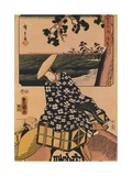 The Travellers, 1901 Giclee Print by Utagawa Kunisada
