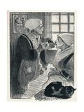 Les Femmes De France from Chansons De Femmes, 1897 Giclee Print by Theophile Alexandre Steinlen