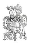 The Coat of Arms of Florian Waldauf, 1500 Giclee Print by Albrecht Dürer