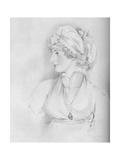 Mrs. Siddons, 1797 Giclee Print by RJ Lane