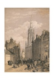 New Assembly Hall, Edinburgh, C1875 Giclee Print by Thomas Picken