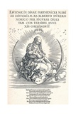 Title Page of the Life of the Virgin, 1511 Giclee Print by Albrecht Dürer