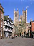 Lincoln Cathedral, Lincolnshire Photographic Print by Peter Thompson